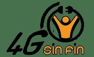 logotipo 4g sin fin